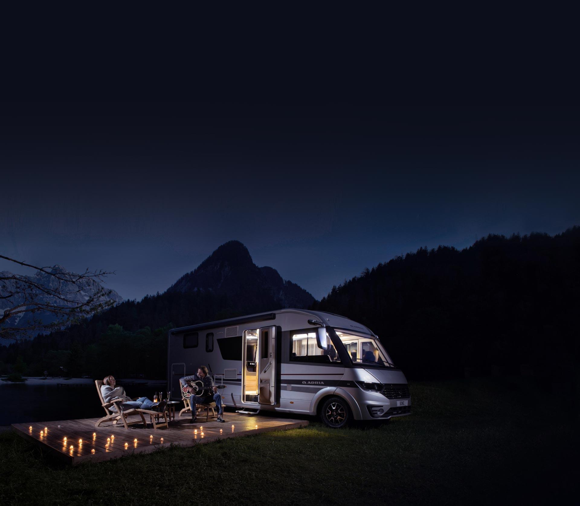 Best Motorhome rental provider Slovenia   Adria Holidays
