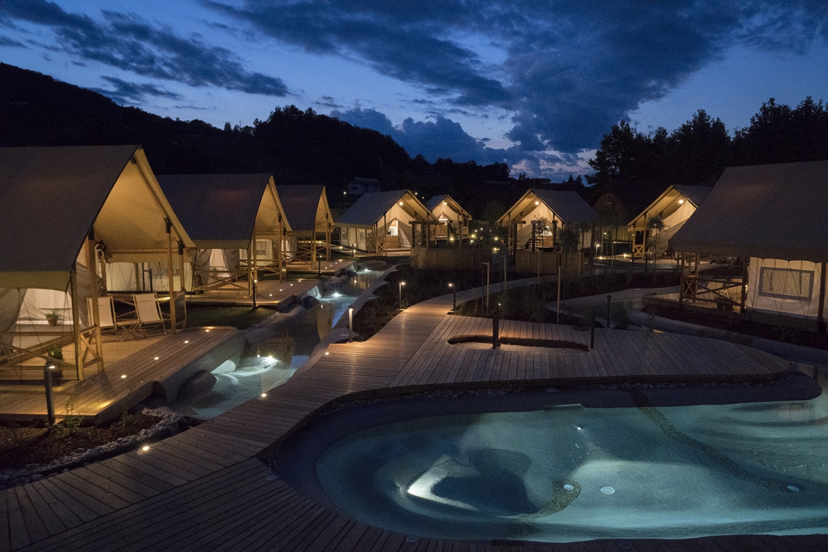 Olimia Adria Village Best Glamping 2017 Adria Holidays